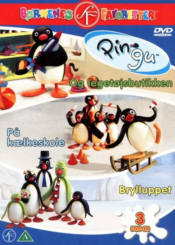 Billede af Pingu Box - DVD - Film