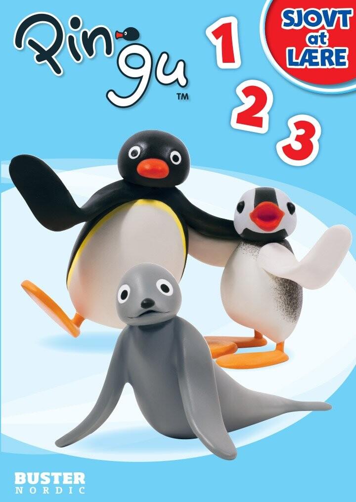 Pingu:  Sjovt At Lære (123) - Bog