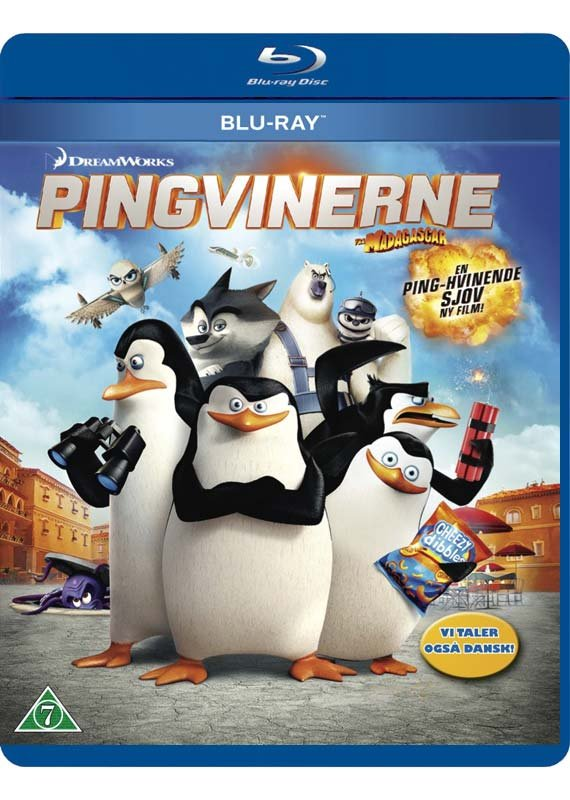 Image of   Pingvinerne Fra Madagascar - The Movie - Blu-Ray