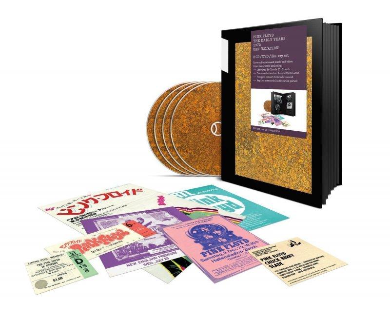 Image of   Pink Floyd 1972 - Obfusc/ation (2 Cd+dvd+blu-ray) - Blu-Ray
