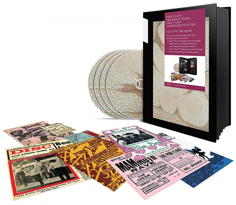 Image of   Pink Floyd - The Early Years 1965-1967 Cambridge Station (2 Cd+dvd+blu-ray) - Blu-Ray