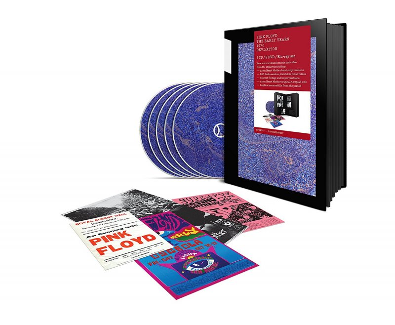 Image of   Pink Floyd The Early Years 1970 Devi/ation - Blu-Ray