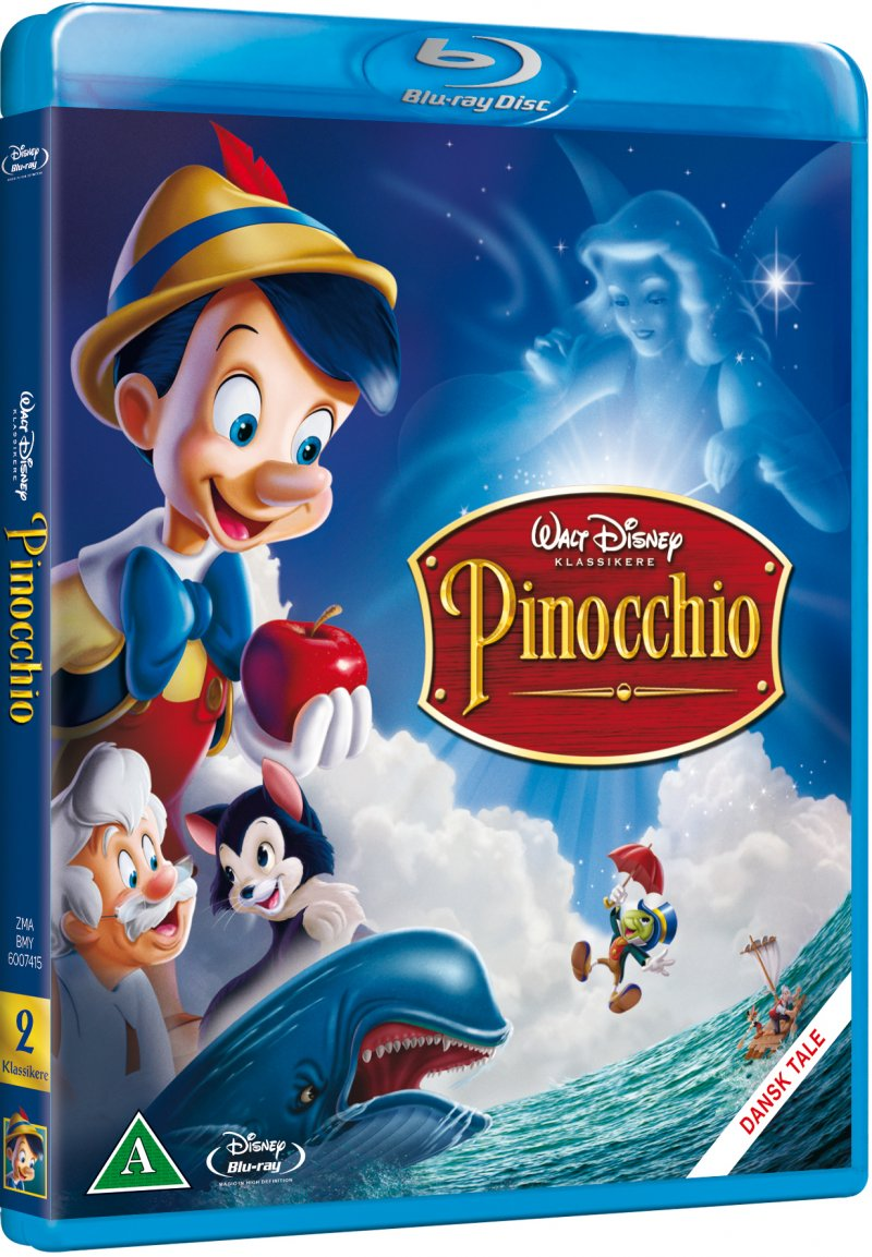 Image of   Pinocchio - Disney - Blu-Ray