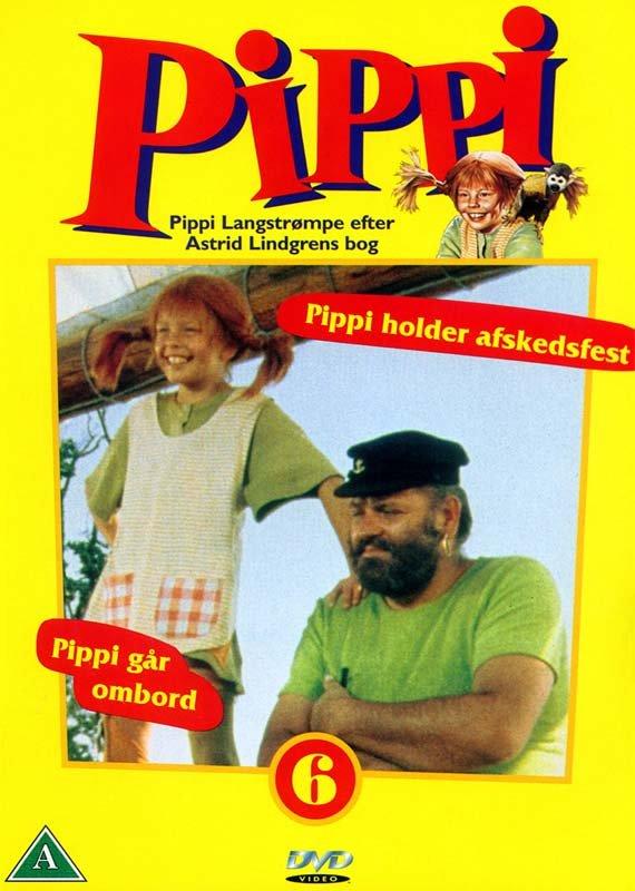 Billede af Pippi 6: Pippi Holder Afskedsfest - Eps. 12-13 - DVD - Film