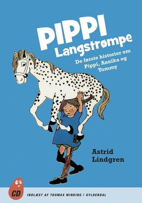Image of   Pippi Langstrømpe - Astrid Lindgren - Cd Lydbog