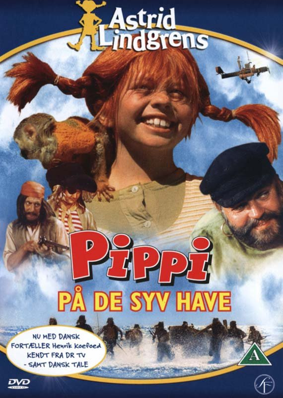 Billede af Pippi Langstrømpe På De Syv Have - DVD - Film