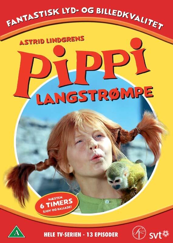 Billede af Pippi Langstrømpe - Hele Tv-serien - DVD - Film