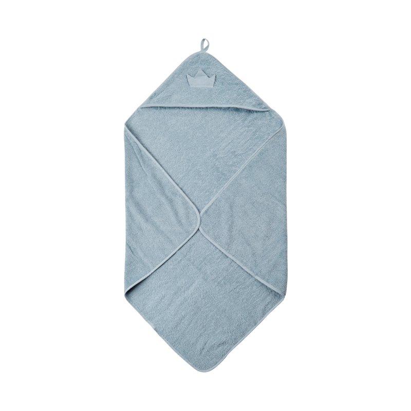 Pippi økologisk Babyhåndklæde - Blå