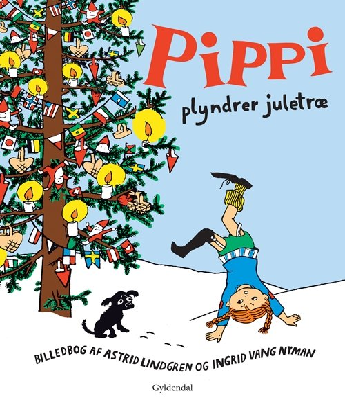 Billede af Pippi Plyndrer Juletræ - Astrid Lindgren - Bog