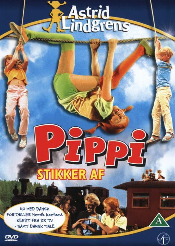 Billede af Pippi Stikker Af - DVD - Film
