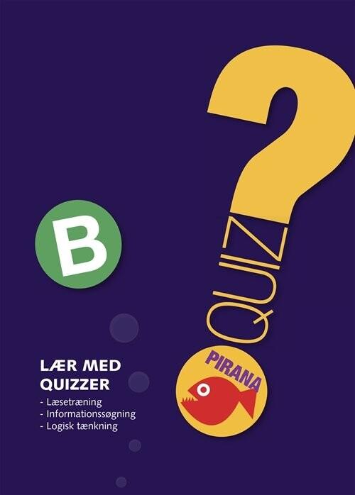 Pirana - Lær Med Quizzer B - Diverse - Bog