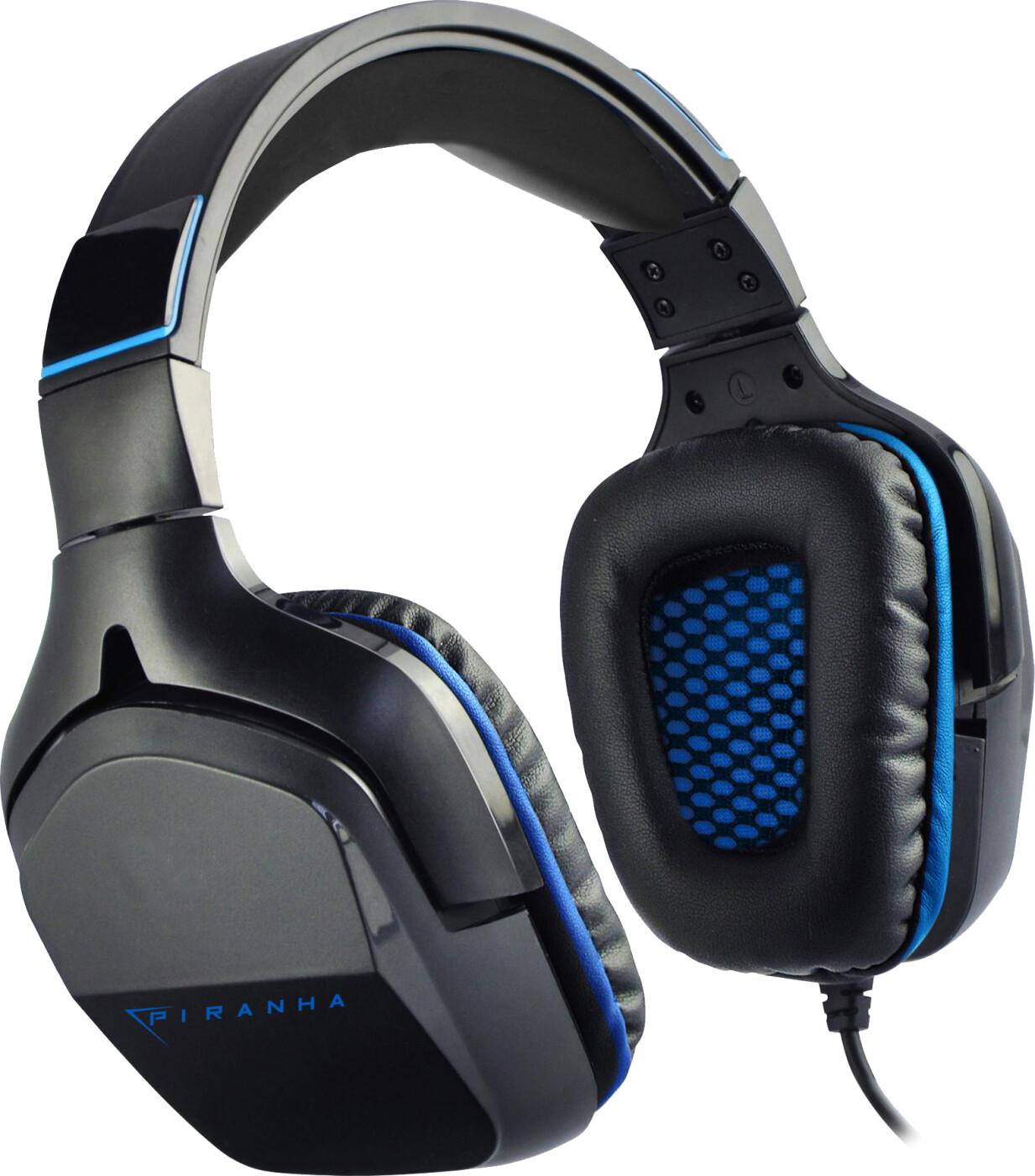Image of   Piranha Hp90 - 7.1 Surround Gaming Headset Med Mikrofon