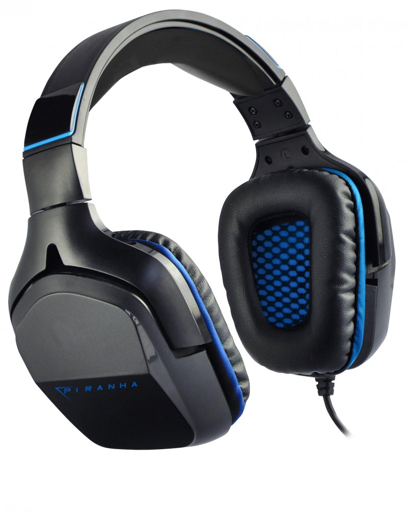 Image of   Piranha Hp90 - 7.1 Surround Gaming Headset Med Mikrofon