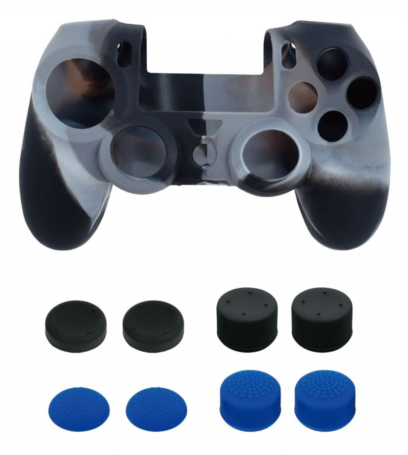 Image of   Ps4 Controller Skin & Thumb Grips