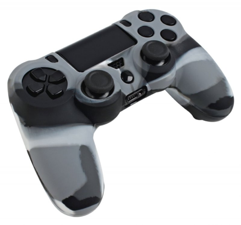 Image of   Ps4 Controllerskin - Grå Camouflage