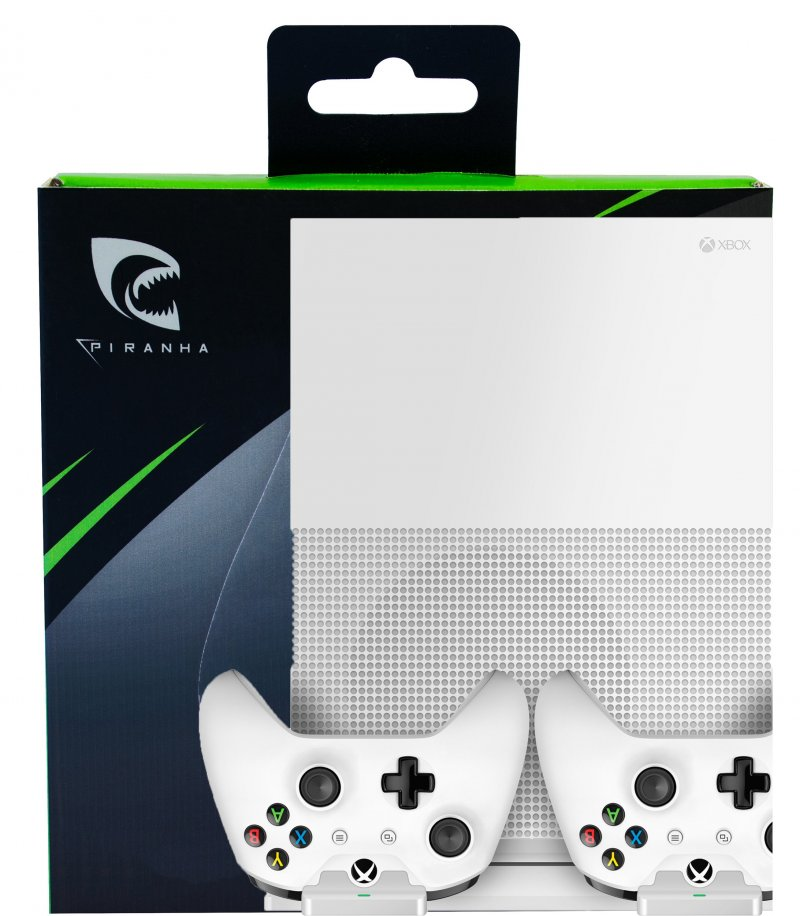 Image of   Piranha Xbox One S Stand Med Ladefunktion