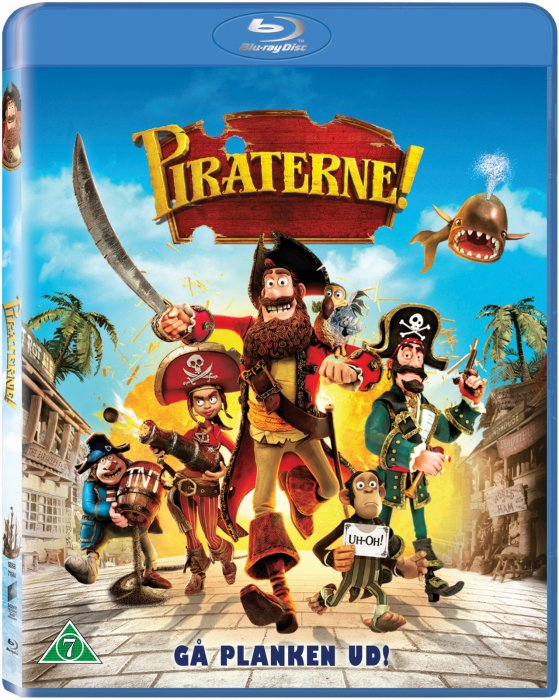Image of   Piraterne - Blu-Ray