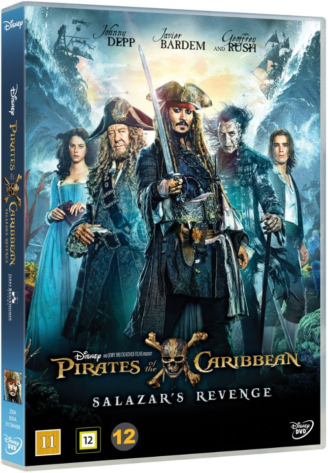 Pirates Of The Caribbean 5 - Salazars Hævn - DVD - Film