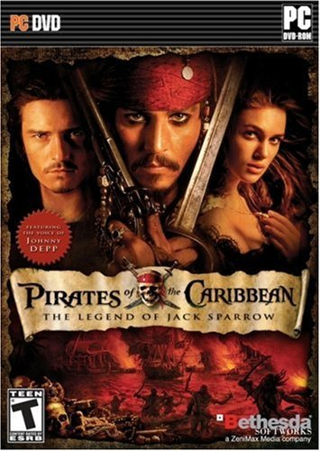 Image of   Pirates Of The Carribean - The Legend Of Jack Sparrow - Dk - PC