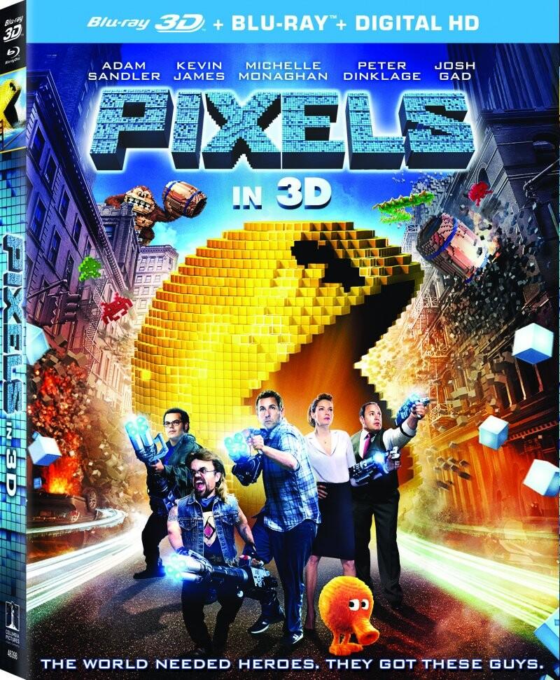 Image of   Pixels - 3D Blu-Ray