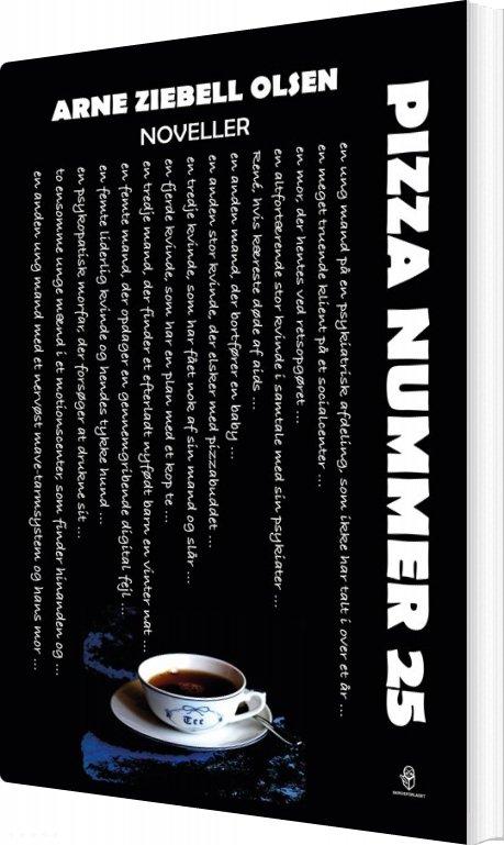 Pizza Nummer 25 - Arne Ziebell Olsen - Bog