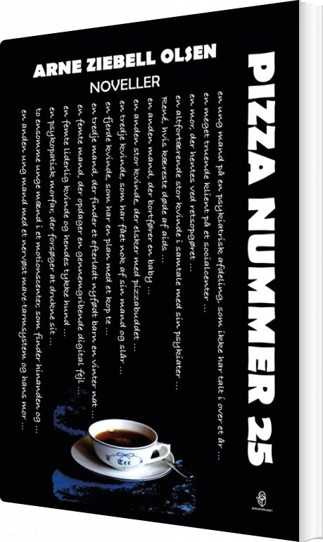 Image of   Pizza Nummer 25 - Arne Ziebell Olsen - Bog