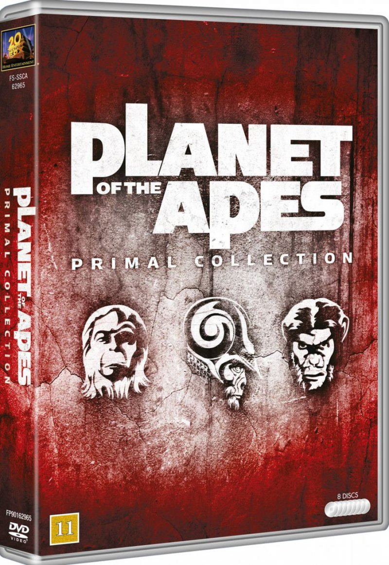 Image of   Abernes Planet Box - DVD - Film
