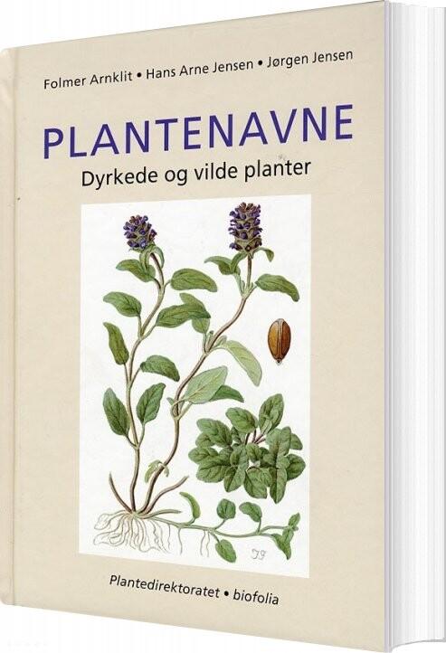 Image of   Plantenavne - Jørgen Jensen - Bog