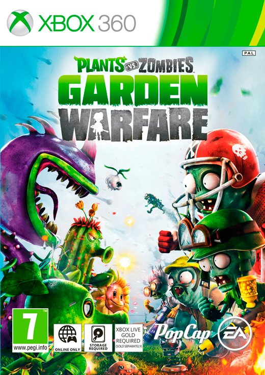 Image of   Plants Vs Zombies: Garden Warfare - Xbox 360