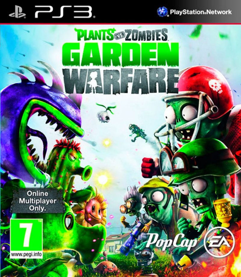 Image of   Plants Vs Zombies: Garden Warfare - Dk - PS3