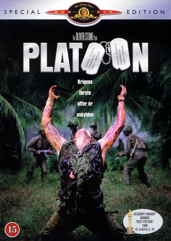 Image of   Platoon - Special Edition - DVD - Film