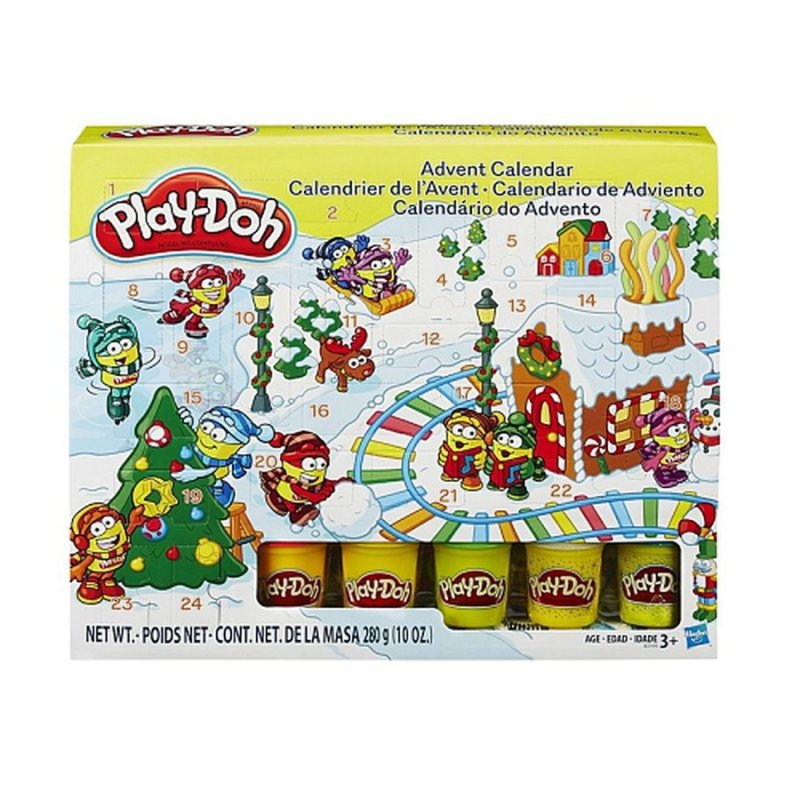 Play-doh Modellervoks - Julekalender / Pakkekalender