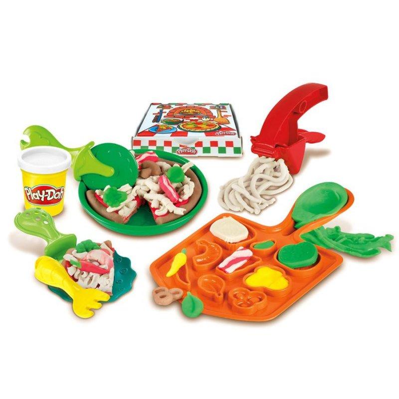 Play Doh Modellervoks - Pizza Fest Sæt