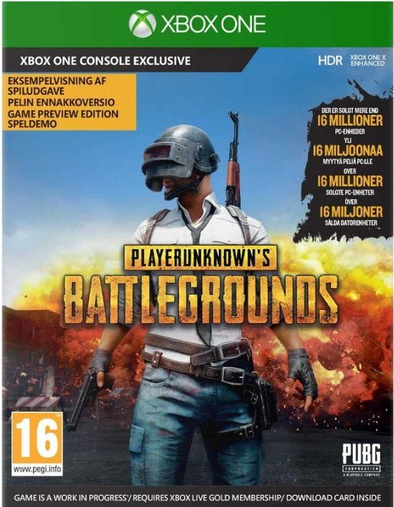 Image of   Playerunknowns Battlegrounds (code In A Box) - Xbox One
