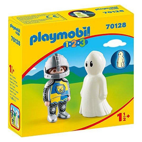 Playmobil 123 - Kriger Og Spøgelse Figurer - 70128