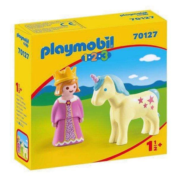 Playmobil 123 - Prinsesse Med Enhjørning - 70127