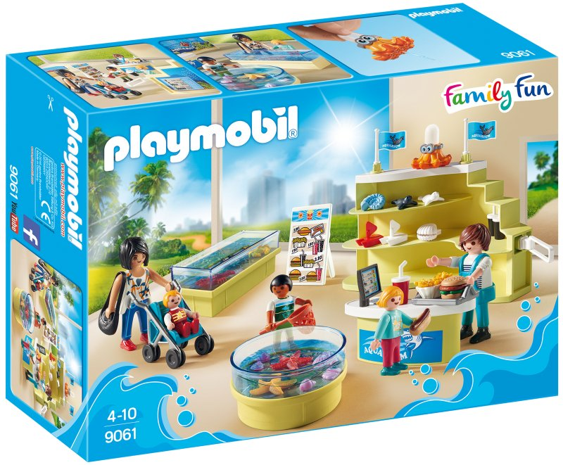 playmobil family fun, playmobil Aquarium