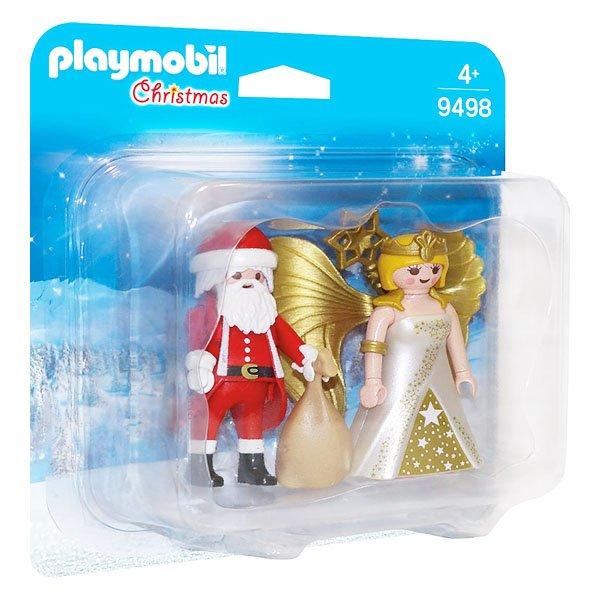 Playmobil Christmas - Julemand Og Juleengel - Jul - 9498