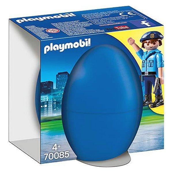 Playmobil City Action - Politimand Figur Med Hund - 70085