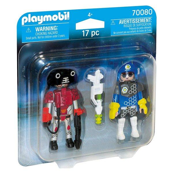 Playmobil City Action - Rum-politi Og Tyv Figurer - 70080