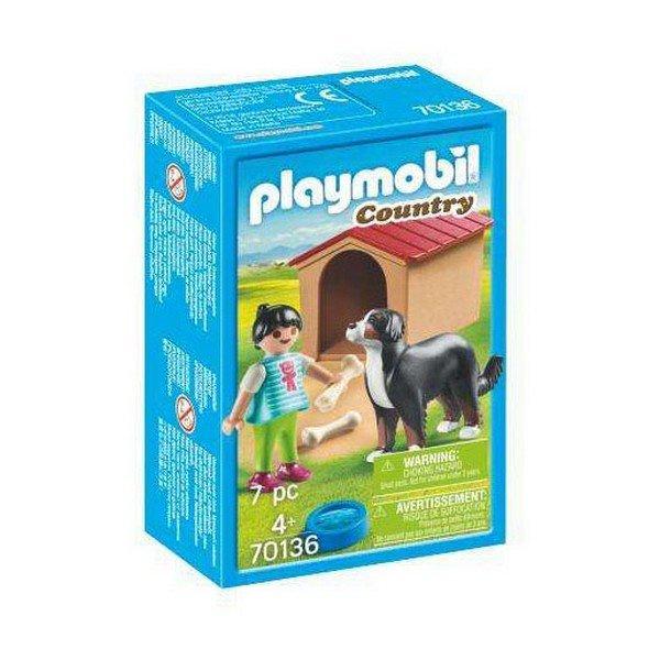 Playmobil Country - Hund Med Hundehus - 70136