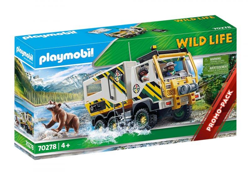 Billede af Playmobil Wild Life - Ekspeditionstruck - 70278