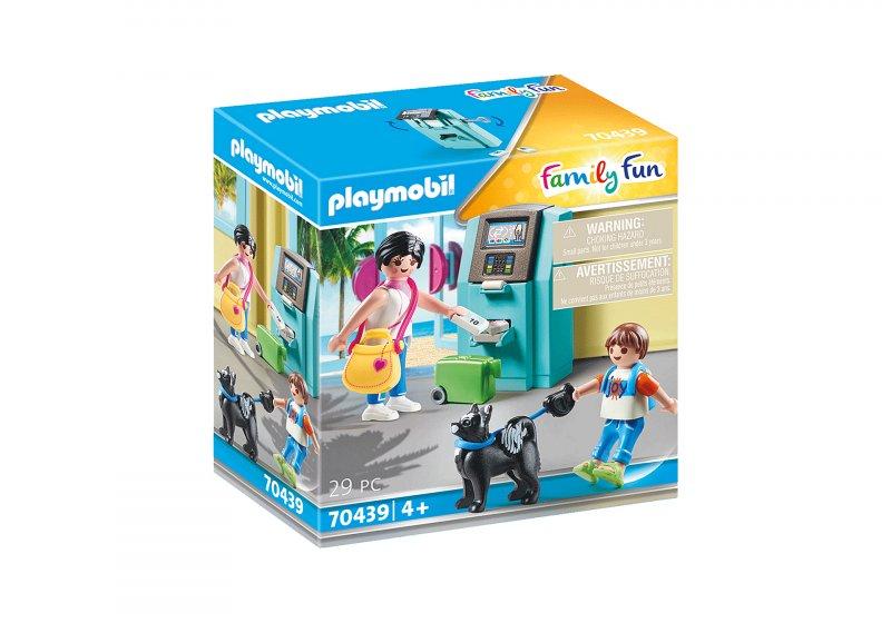 Playmobil - Feriegæst Med Pengeautomat - 70439