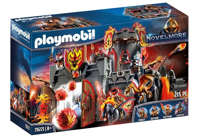 Playmobil - Novelmore - Flamerock Borgen - 70221