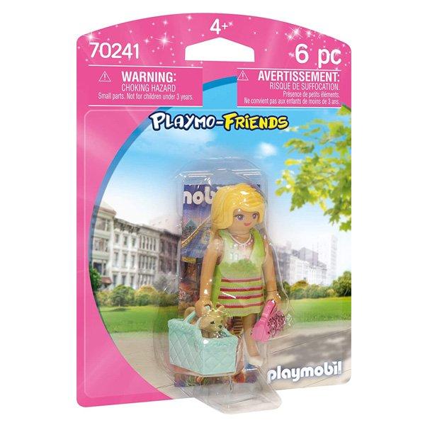 Playmobil Friends - Pige Med Taske Og Hund - 70241
