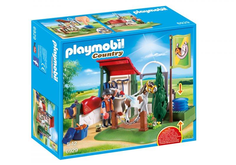 Hypermoderne Playmobil Country 6929 - Hestevask → Køb billigt her WZ-45