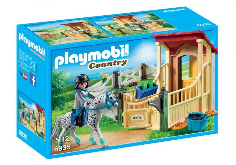 Playmobil Hestestald - Country 6935 - Appaloosa