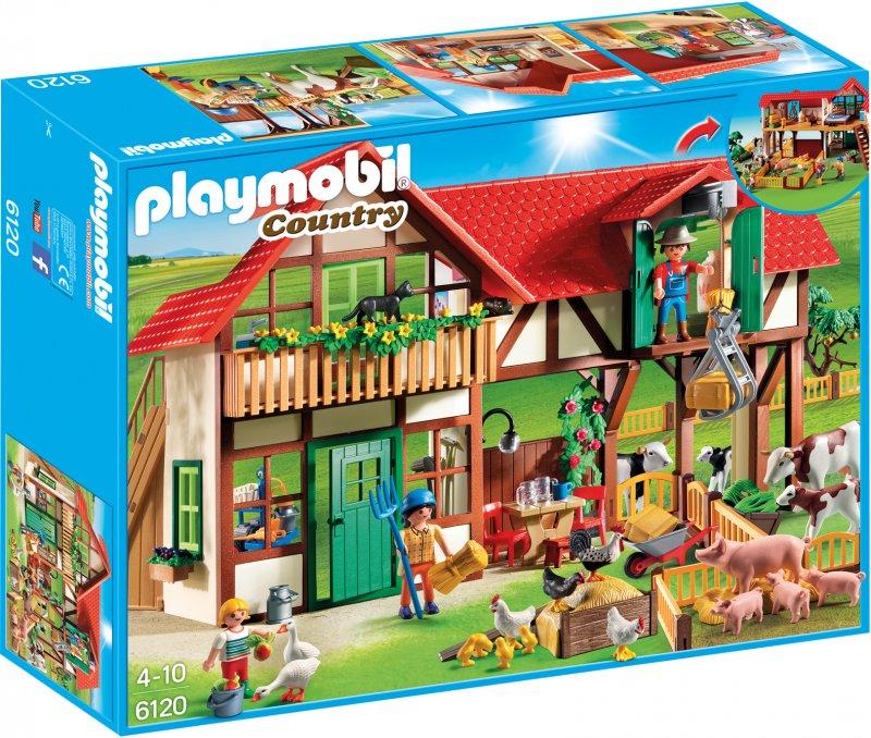 playmobil, play mobil, playmobil 6120, playmobil country, playmobil gård