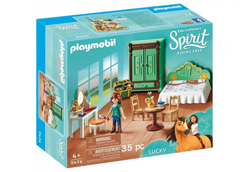Frisk Playmobil Spirit - Luckys Soveværelse → Køb billigt her EU-07