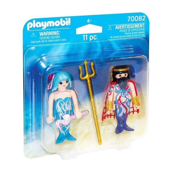 Playmobil Magic - Havets Konge Og Havfrue - 70082